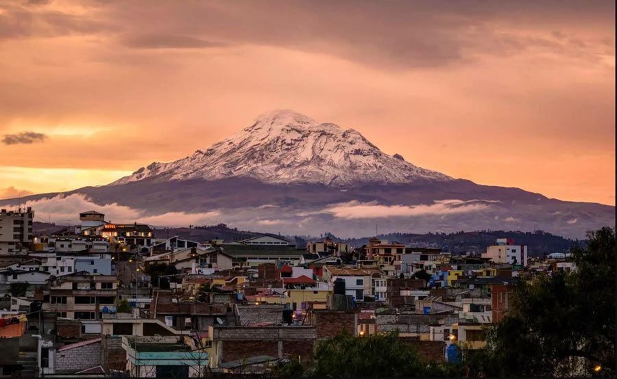 Hermoso atardecer en Riobamba - Chimborazo