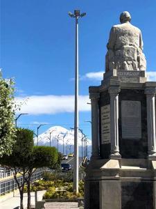 Luis Alberto Costales Riobamba Monumento Chimborazo Ecuador Turismo Lugares