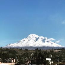 Chimborazo volcan