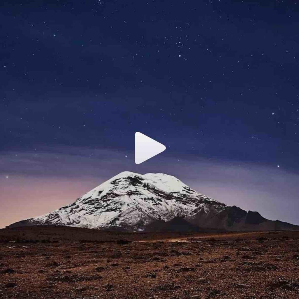 Espectacular Toma del Chimborazo desde un Drone