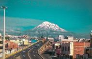 Espectacular toma de Riobamba y el Chimborazo