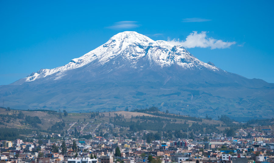 ¡GIGANTE Chimborazo!