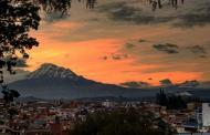 Hermoso atardecer en Riobamba – Chimborazo