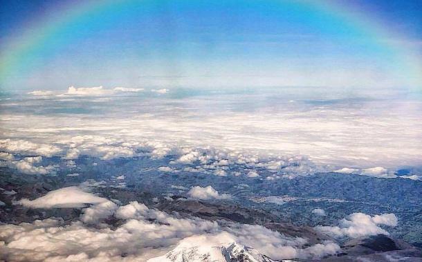 Espectacular Toma del Chimborazo Vigilando Riobamba