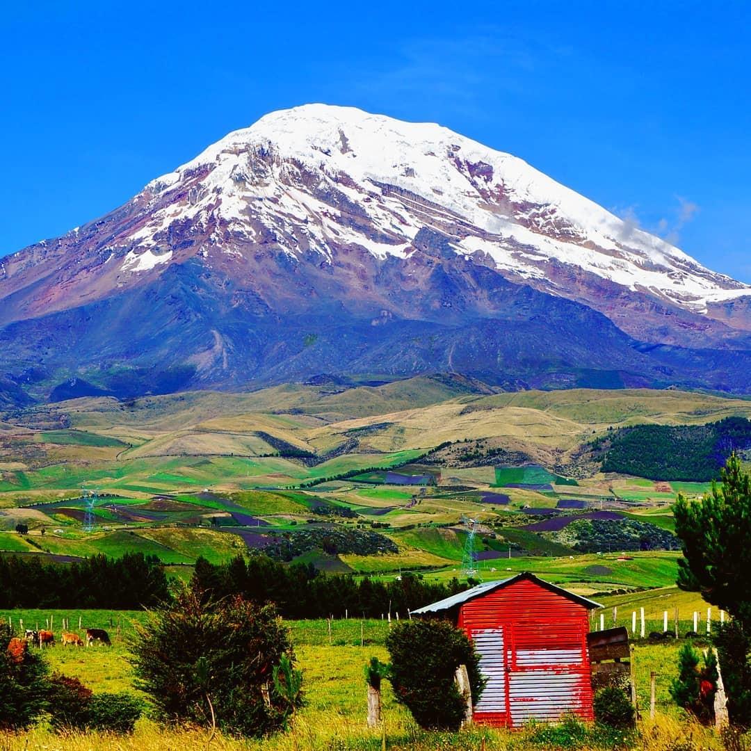 Espectacular toma del Chimborazo captado por una pareja de viajeros