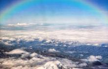 Espectacular Arcoíris en el Chimborazo