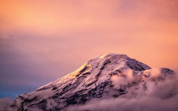 Mágico Atardecer en El Chimborazo