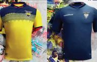 La nueva camiseta de Ecuador