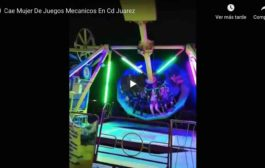 VIDEO Cae Mujer De Juegos Mecánicos En México