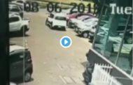 Video: Vehículo cero kilómetros se estrelló contra un BUS
