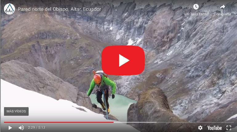 Video: ESPECTACULAR Andinistas Coronan la Pared norte del Obispo, EL ALTAR.