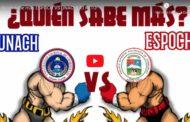 Video: Quién sabe más ESPOCH VS UNACH| 💪¡El RETO!