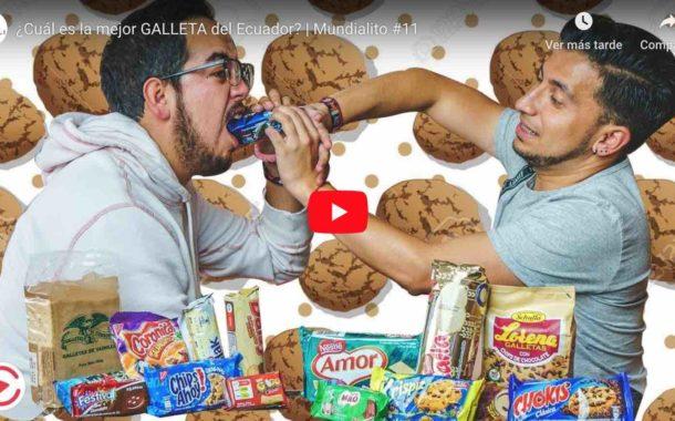 Video: ¿Cuál es la mejor GALLETA del Ecuador? | Mundialito #11