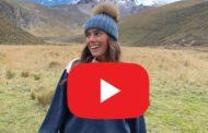 Video: FAMOSA YouTuber SARA BACEIREDO visita Ecuador y conoce el CHIMBORAZO.