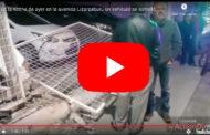 Video: En la avenida Lizarzaburu un vehículo se estrelló - La Prensa Chimborazo
