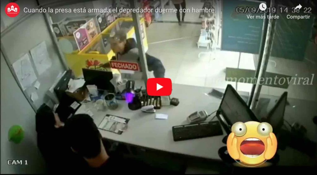 Video: Delincuentes son abatidos a BALA