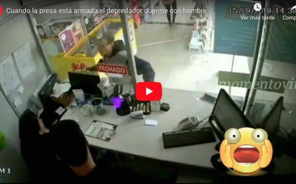 Video: Delincuentes son abatidos a BALA