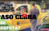 Video: NO SE RESPETA EL PASO CEBRA ( Riobamba) *salieron más bravos*
