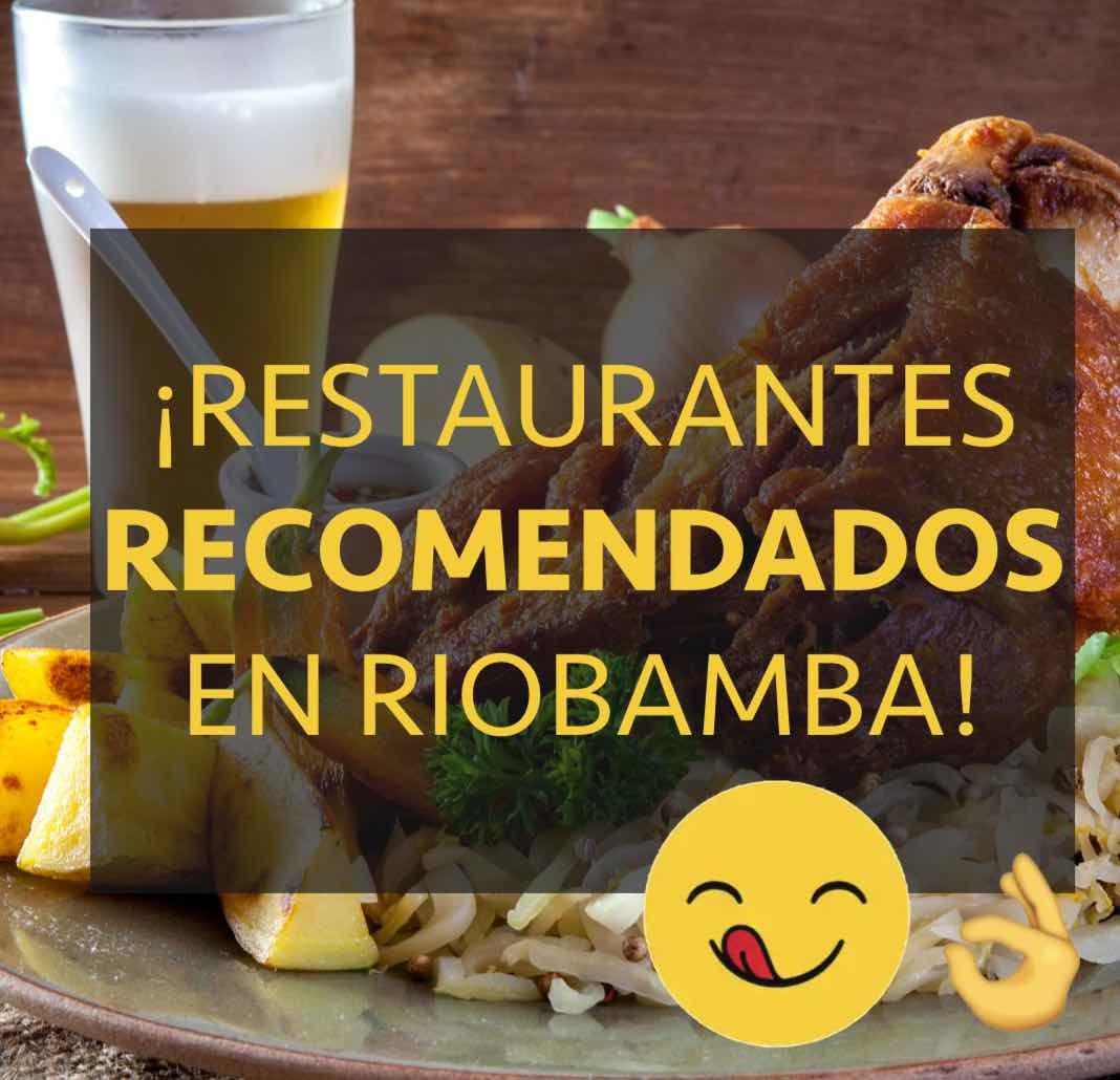 restaurantes riobamba