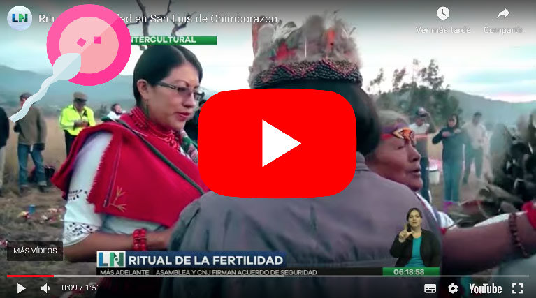 Video: Ritual de FERTILIDAD en San Luis de CHIMBORAZO - RTS