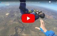 Video: Un accidente paracaidista se convierte en lo más visto en la red