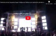 Video: IMÁGENES SENSIBLES Una bailarina muere en un accidente con pirotecnia en pleno espectáculo en #España