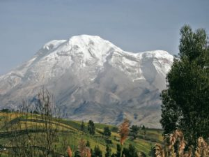 chimborazo desde riobamba