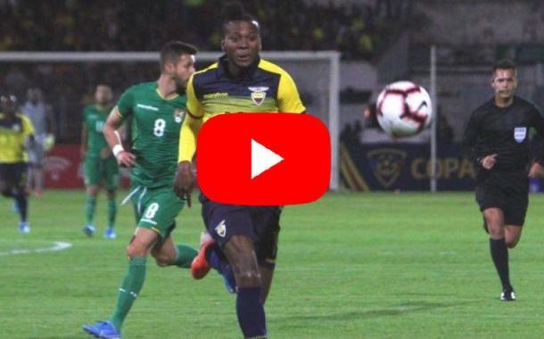 Video: ECUADOR vs BOLIVIA   3 - 0   Amistoso FIFA
