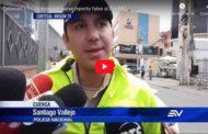 Video: Detienen a ciudadano por hacer reporte falso al Ecu911 - Ecuavisa