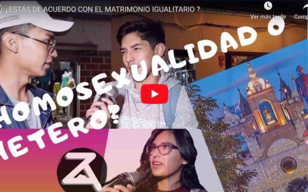 Video: ¿ESTÁS DE ACUERDO CON EL MATRIMONIO IGUALITARIO ?