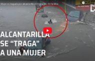 Video: ALCANTARILLA SUCCIONÓ A UN MUJER DE 17 AÑOS EN MÉXICO ‼