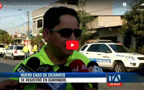 Video: Un nuevo caso de SICARIATO se registró en las calles de Guayaquil. - Teleamazonas