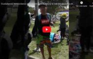 Video: Nuevamente ciudadanos Venezolanos son desalojados del Parque Infantil.