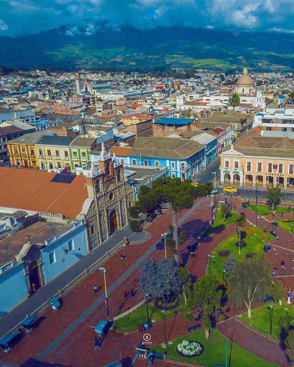 riobamba centro historico