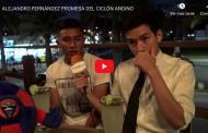 Video: ALEJANDRO FERNÁNDEZ PROMESA DEL CICLÓN ANDINO