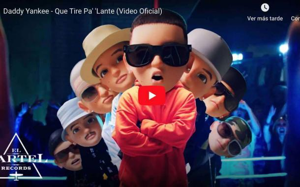 Video: Daddy Yankee - Que Tire Pa' 'Lante (Video Oficial)