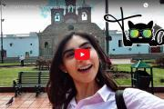Video: Erika Russo de ENCHUFE TV visitó Riobamba.