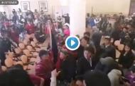 Video: Así se vivió dentro de la Gobernación de Chimborazo el día de hoy