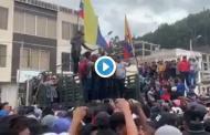 Videos: ¡PARO! Lo que se vivió en RIOBAMBA el día de HOY 12 de Octubre.