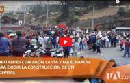 Video: Protestas en Alausí por la salud Teleamazonas