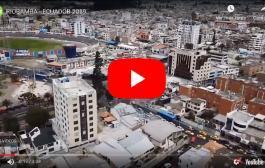 Video: RIOBAMBA, Espectaculares Tomas Aéreas de la Ciudad