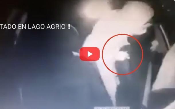 Video: TAXISTA ASALTADO EN LAGO AGRIO (Fuertes Imágenes)