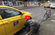 Video: Taxistas fueron AGREDIDOS por los de su mismo gremio │ La Prensa