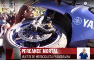 VIDEO: Accidente en Riobamba deja UN MOTOCICLISTA FALLECIDO