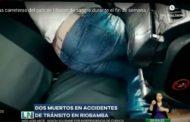 VIDEO: Dos MUERTOS en accidentes de Tránsito en Riobamba