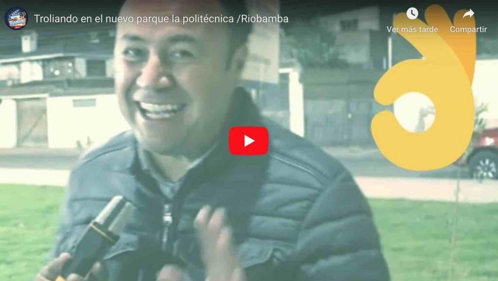 🔴 VIDEO   Troliando en el nuevo parque la politécnica /Riobamba - Achachay TV