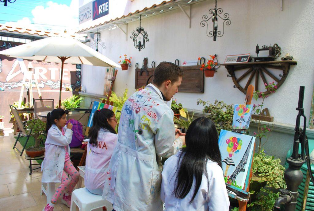 cursos de pintura para niños riobamba 3