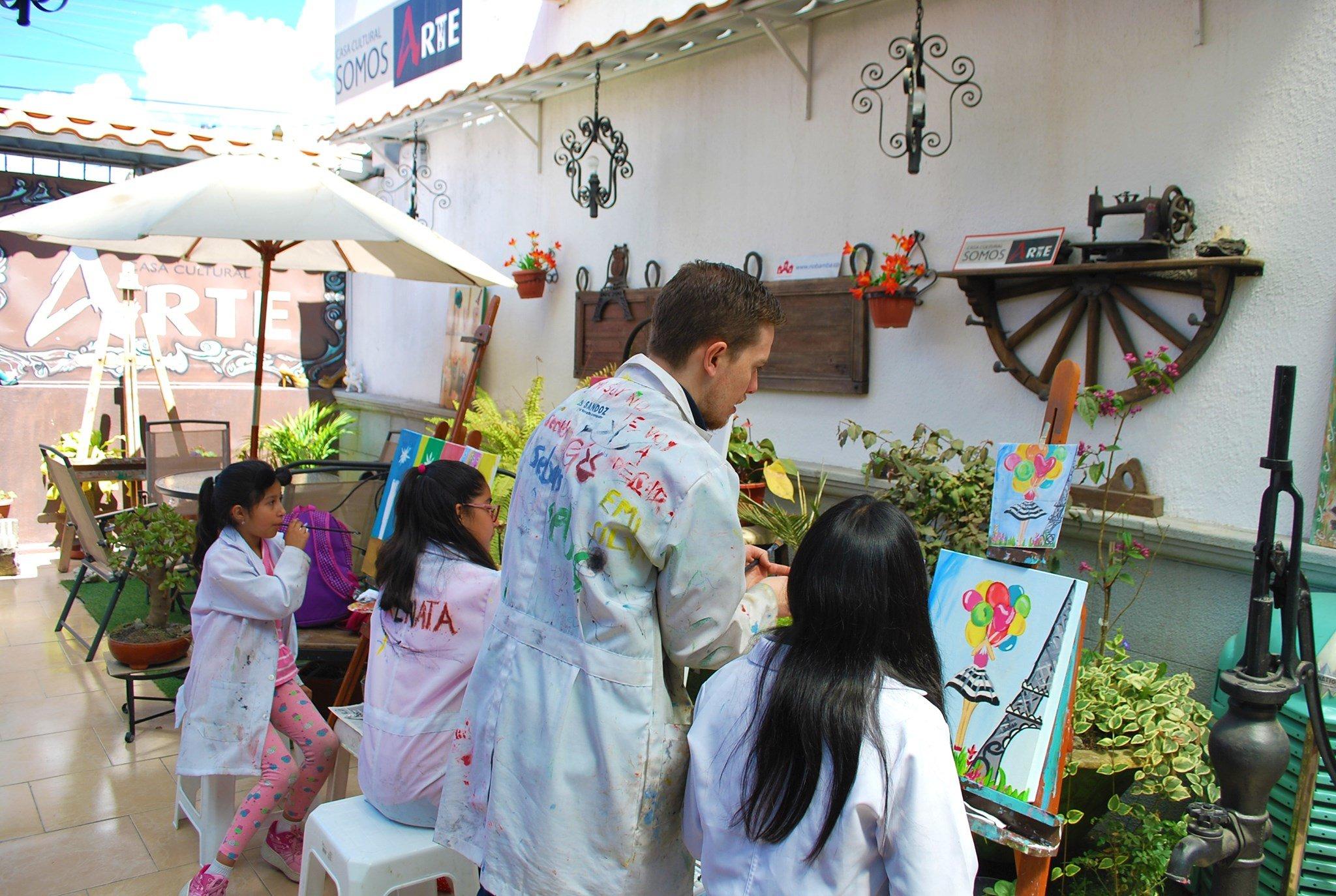 Cursos Riobamba – Talleres permanentes de pintura para todas las edades