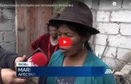 🔴 VIDEO | Comunidades afectadas por temporal en Riobamba