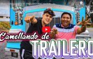 VIDEO: Kike Jav desde Riobamba hasta Quito en trailer | Un día CAMELLANDO de TRAILERO